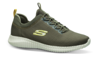 Skechers herresneaker oliven 52529