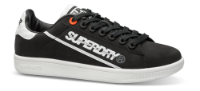 Superdry sneaker sort SLEEK TENNIS TRA