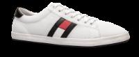 Tommy Hilfiger canvas-sneaker hvit FM0FM02202