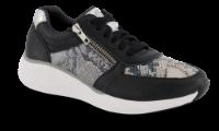 Green Comfort sneaker sort/snake 225025B13115