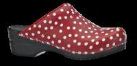 Sanita dametræsko rød m/hvid prik 457048