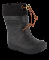 Bisgaard barnetermostøvler sort/glitter 92009999