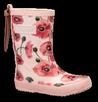Bisgaard barnegummistøvel rosa blomst 92007999