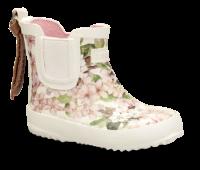 Bisgaard barne-gummistøvel cremefarget blomst 92010999