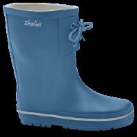 Skofus børnegummistøvle blå