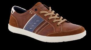Odiin herresneaker brun/blå