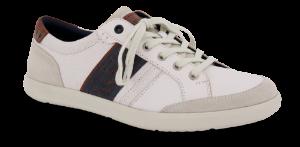Odiin herresneaker hvid/brun
