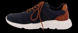 Odiin herresneaker navy/brun
