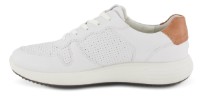ECCO herresneaker hvit 460634 SOFT 7 RU