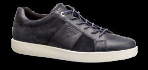 ECCO herresneaker blå 400634 SOFT 1 ME