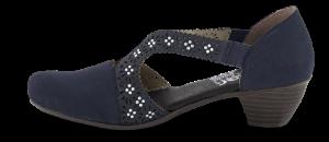 Rieker damepump mørkeblå 41750-15