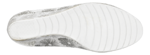 B&CO damepump hvit/grå