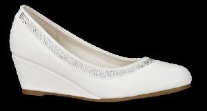 Duffy damepump hvid 97-00396