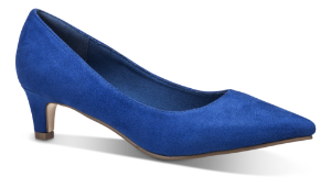 Duffy damepumps koboltblå 97-18580