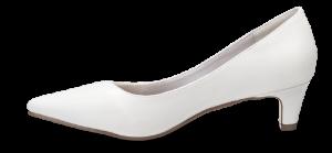 Duffy damepump hvid 97-18580