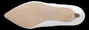 Duffy damepumps hvit 97-18580