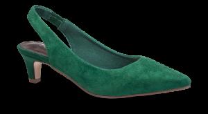 Duffy damepump grøn 97-00599
