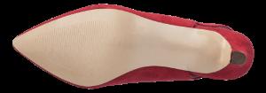 Duffy damepumps rød 97-00599