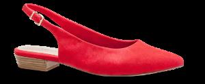 Tamaris damepump rød 1-1-29403-22