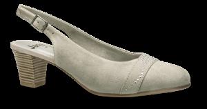 Jana Softline damepumps grå 8-8-29660-22