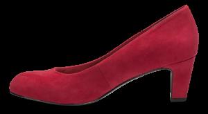 Tamaris damepump rød 1-1-22418-23