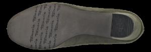 Tamaris damepump olivengrøn 1-1-22458-21