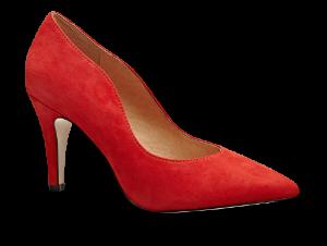 Caprice damepump rød 9-9-22412-21