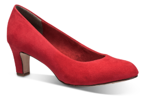 Tamaris damepump rød 1-1-22418-22