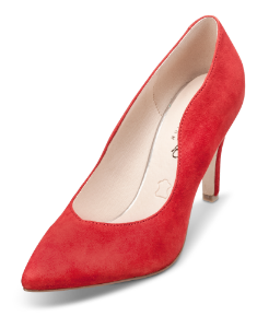Caprice damepump rød 9-9-22412-22
