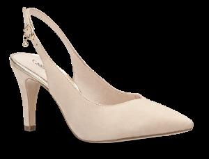 Caprice damepumps beige 9-9-29602-22