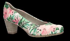 Jana Softline damepumps blomst 8-8-22467-22