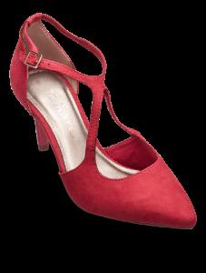 Tamaris damepump rød 1-1-24415-22