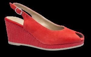 Tamaris damesandal rød 1-1-29303-22