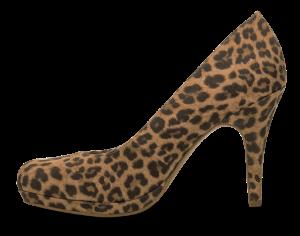 Tamaris damepump leopard 1-1-22467-32