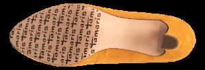 Tamaris damepump gul 1-1-22418-23