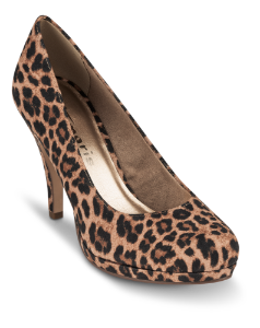 Tamaris damepump leopard 1-1-22407-23