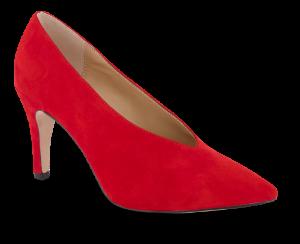 Caprice damepumps rød 9-9-22403-23