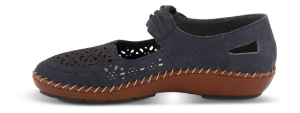 Rieker damesko mørkeblå 44896-14