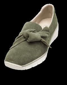 Rieker dame slip-in grøn 537Q4-54