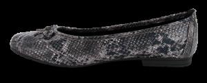 Jana Softline dameballerina snake 8-8-22162-24
