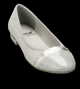 Jana Softline ballerina grå 8-8-22165-22