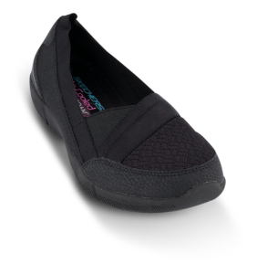 Skechers dame slip-in sort 100026