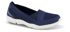 Skechers dame slip-in marineblå 100026