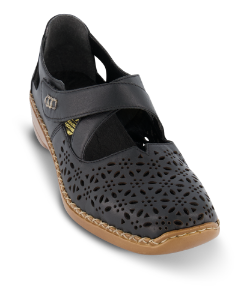 Rieker damesko sort 413J0-00