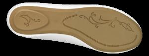 Duffy dameballerina hvid 92-17457