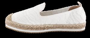 B&CO dame espadrillos hvid 2411101390