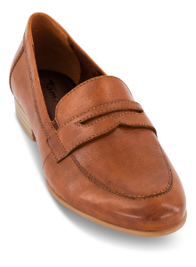 Tamaris dame loafer cognac 1-1-24215-25