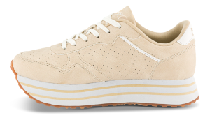 B&CO dame sneaker beige 2421100980