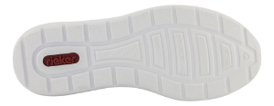 Rieker Damesko med snøre Blå L2230-14
