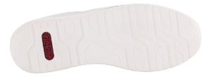 Rieker Damesko med snøre Hvit N5127-80